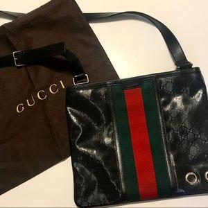 0cafd5a1b3db63 Gucci Bags   Imprime Web Monogram 500 Messenger   Poshmark